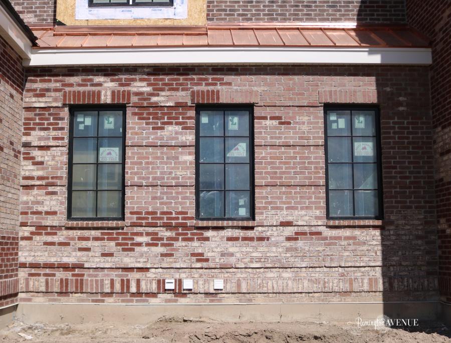 painted brick exteriors- best paint colors