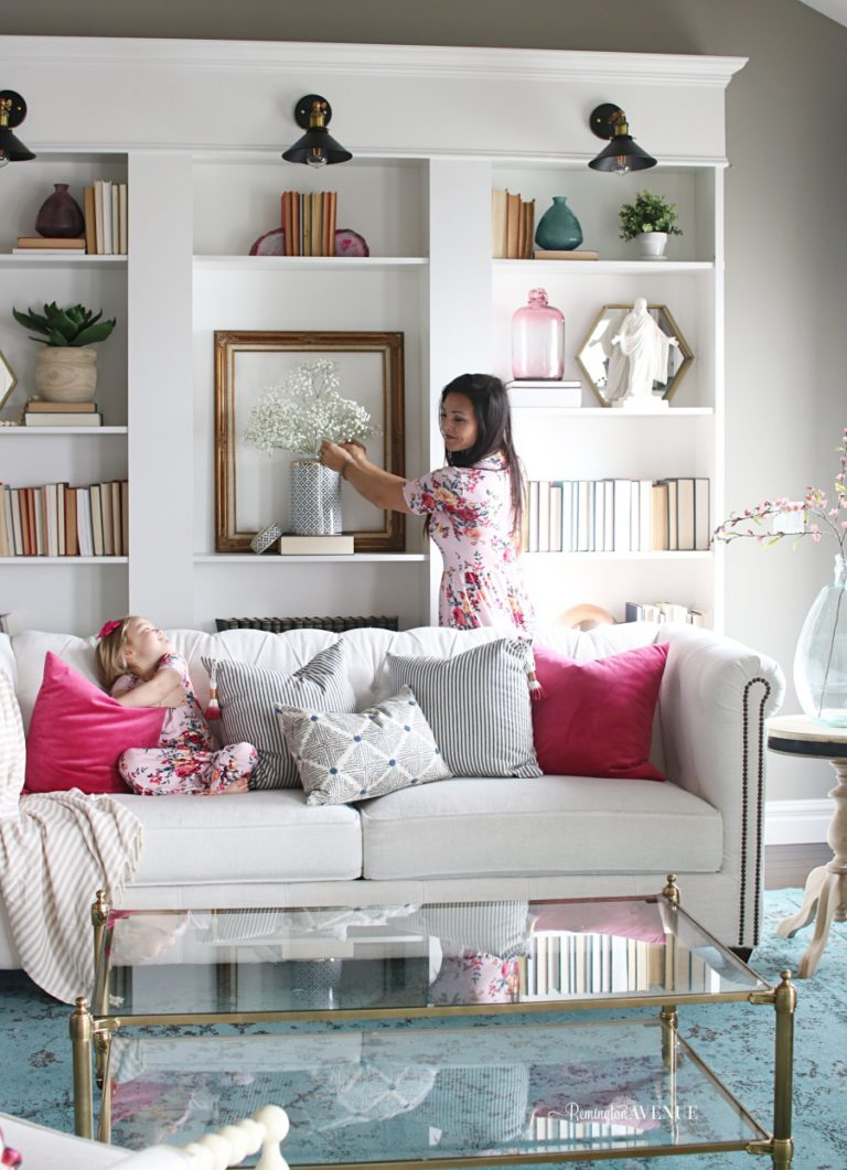 Spring Decorating-Bringing life back into your home