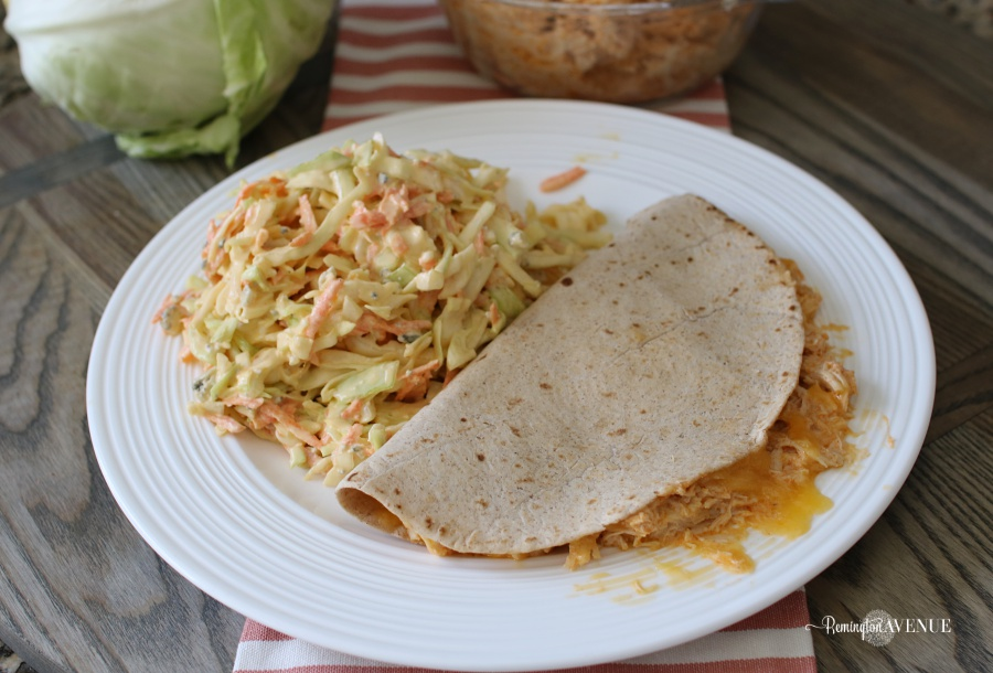 keto quesadillas- low carb buffalo chicken recipe