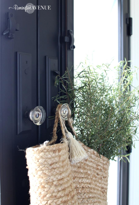 X detail Steel Front Door design