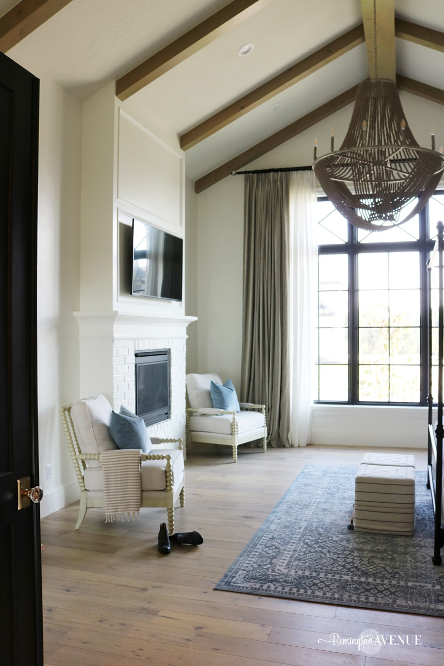 french country master bedroom tour