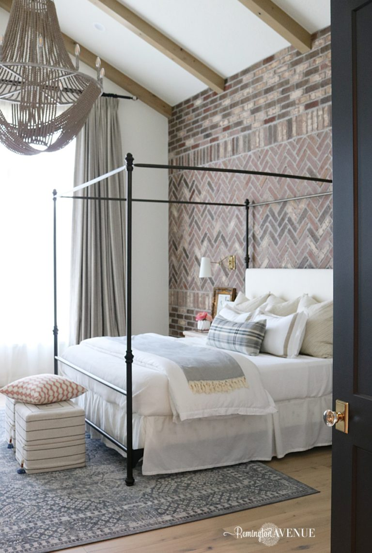 French Country Transitional Master Bedroom Tour