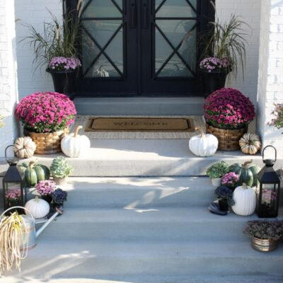 5 Must Haves for your Fall Front Porch