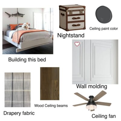 Blank Slate boy's bedroom