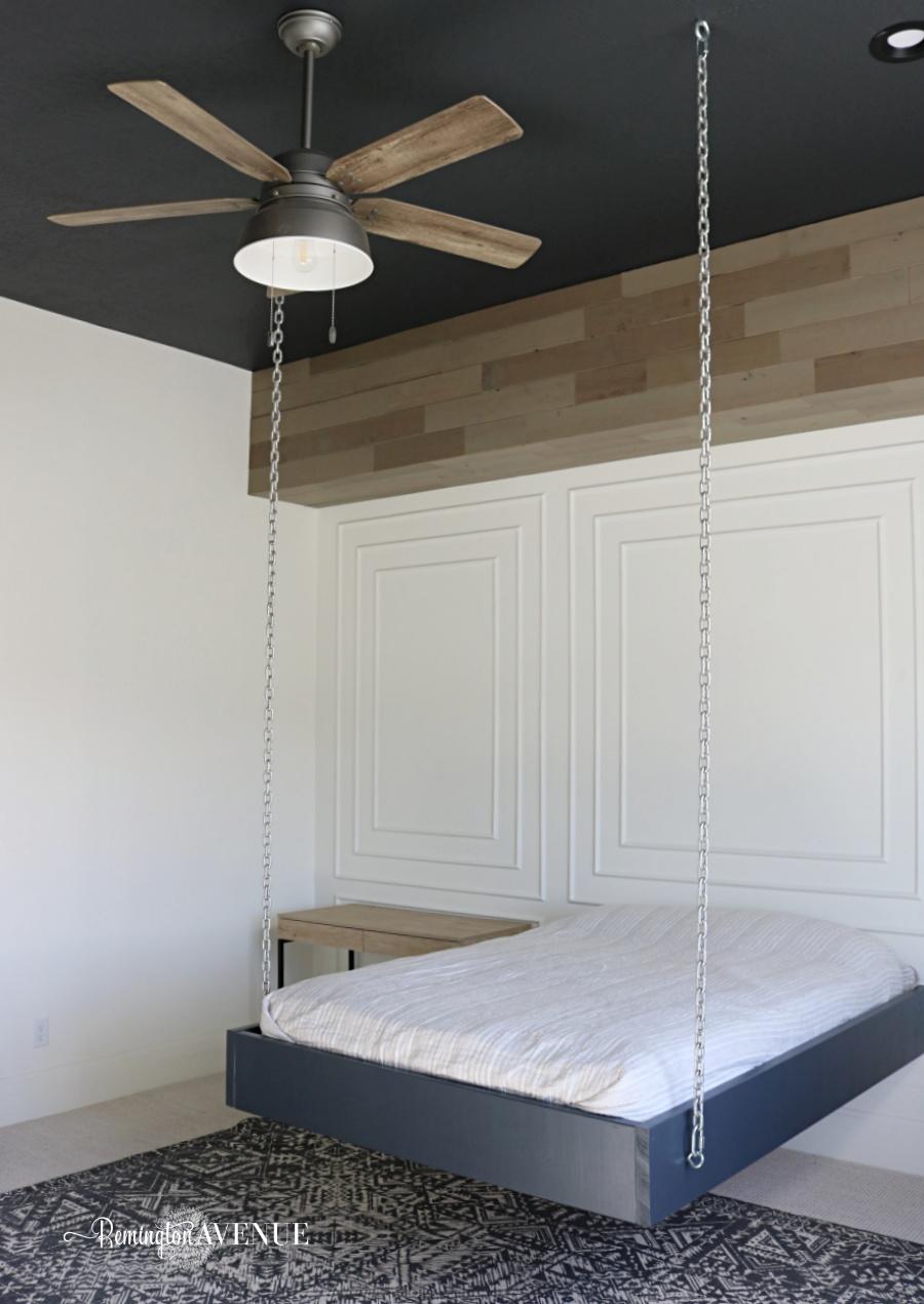 Diy Boy S Bedroom Wood Accents