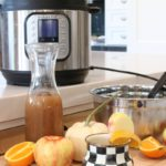 Instant Pot Spiced Cider with Oranges - mulled apple cider