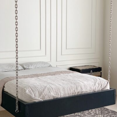 How to build a suspended bed