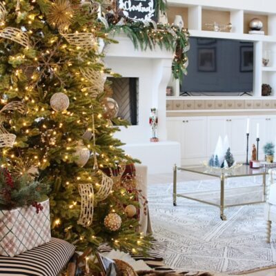 12 Bloggers of Christmas with Balsam Hill – A Metallic and Glass Christmas Tree