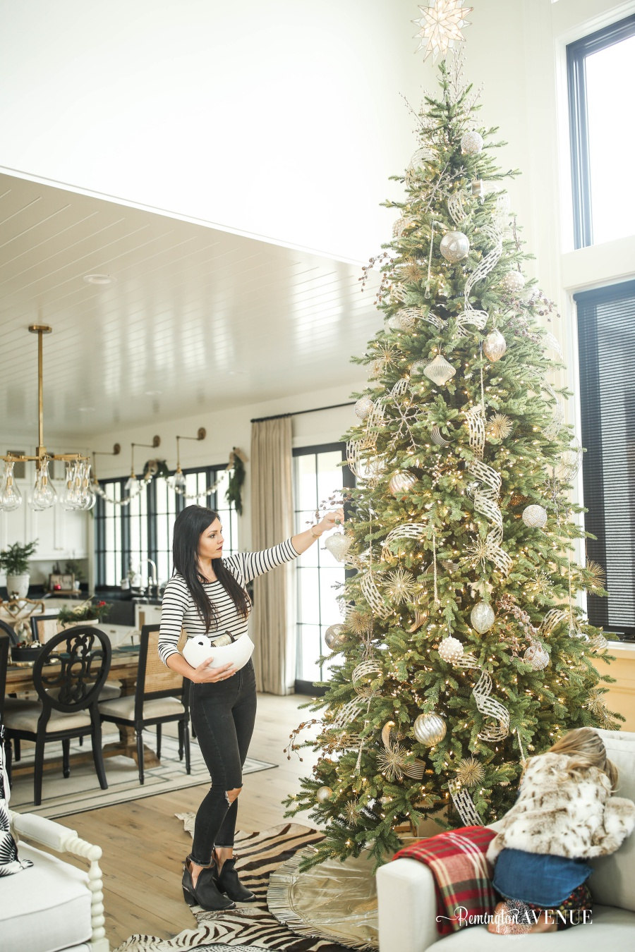 12 Bloggers of Christmas with Balsam Hill - A Metallic and Glass Christmas Tree