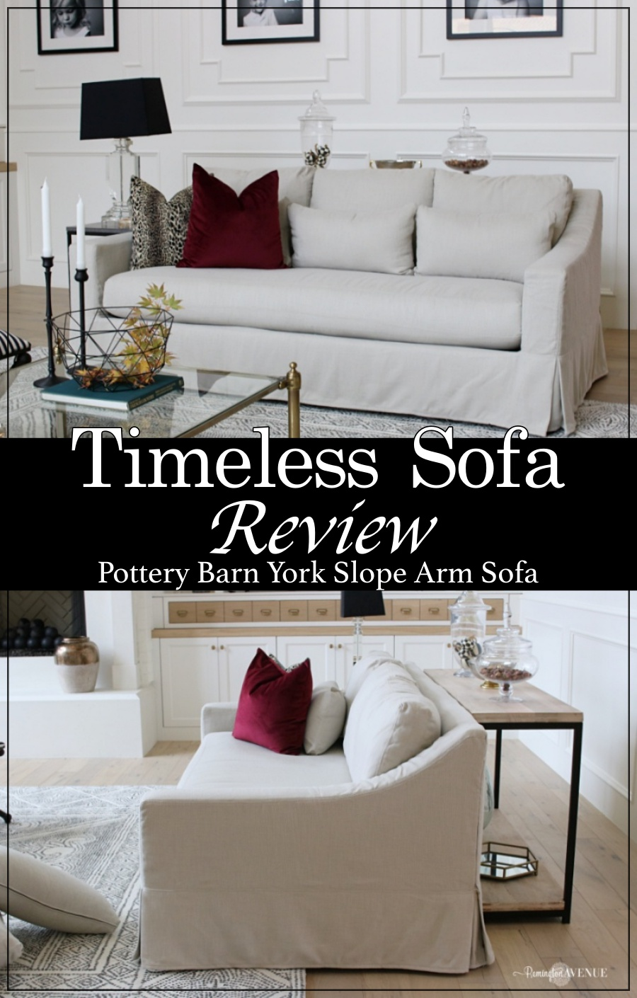 Pottery Barn York Sofa- My Honest Review on a timeless neutral sofa