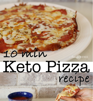 keto pizza recipe