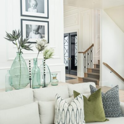 Spring Home Tour with fresh Greens