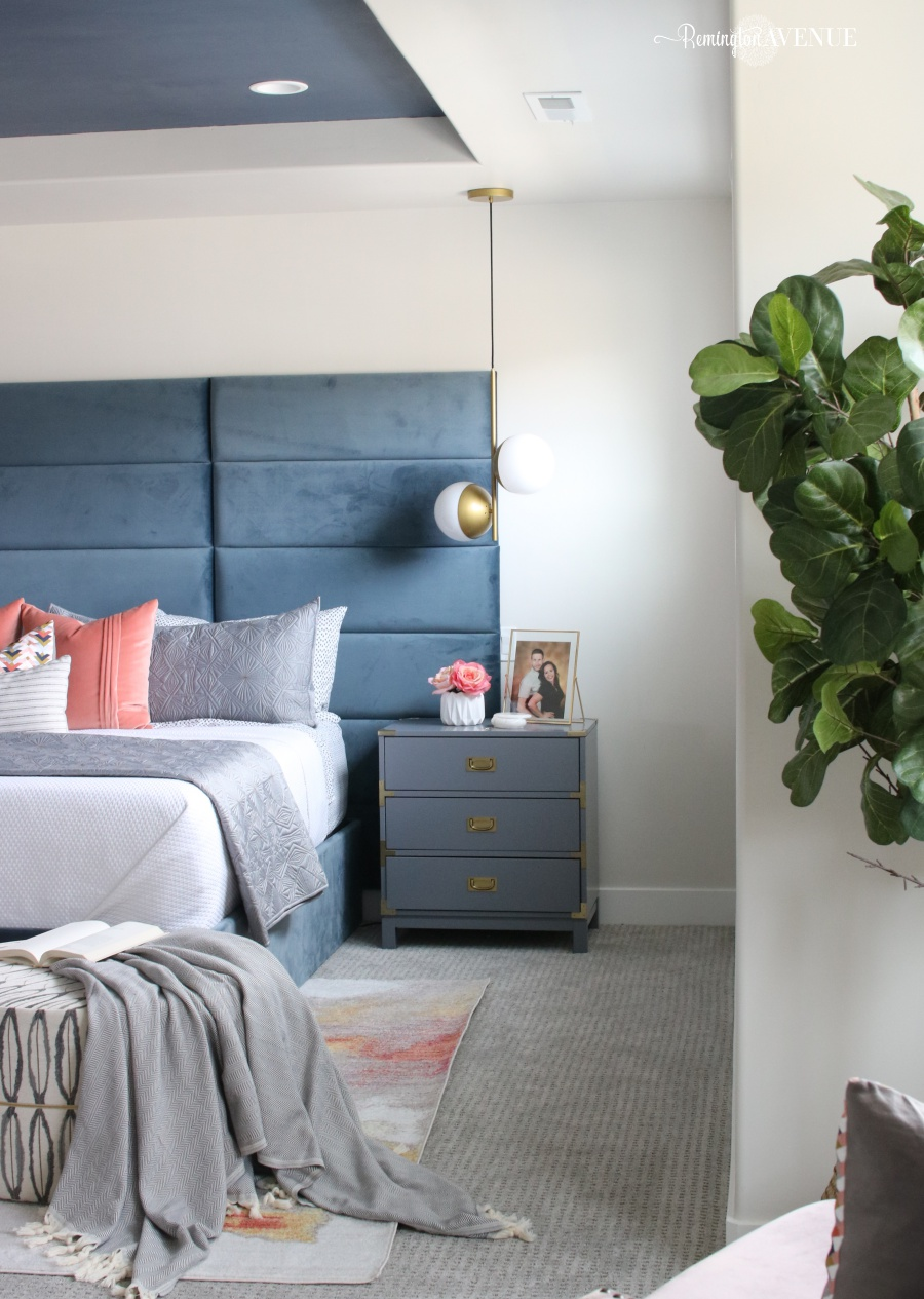colorful bedroom retreat