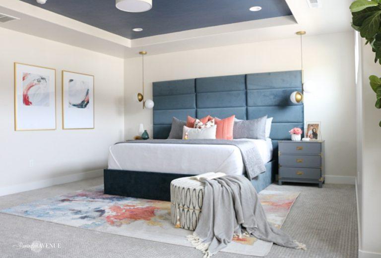 Colorful Bedroom Retreat