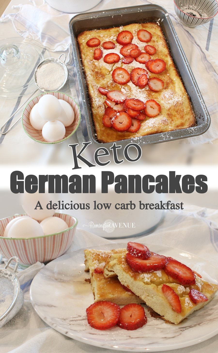 German Pancakes - Low Carb Recipe