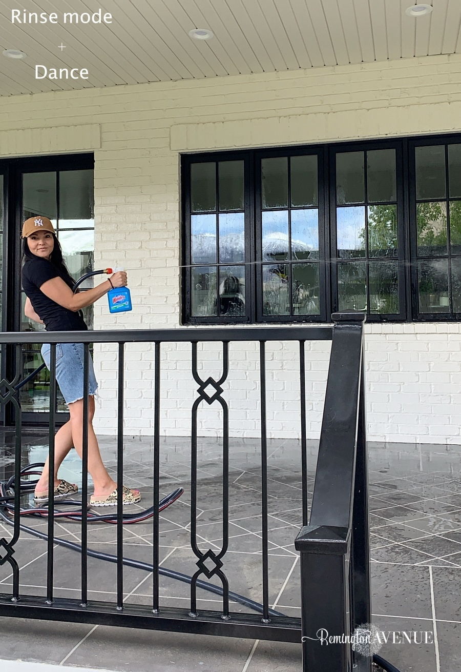 Spring Cleaning my Outdoor Patio and windows