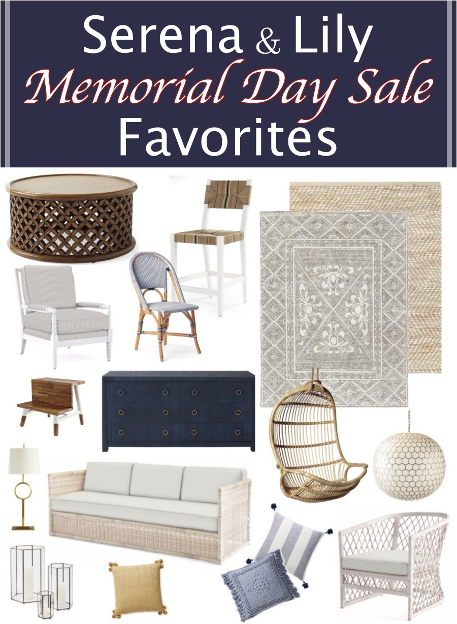 The Serena & Lily Memorial Day sale favorites