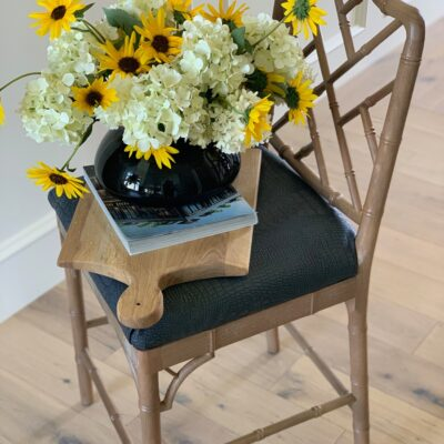 How to reupholster bar stools to be kid friendly