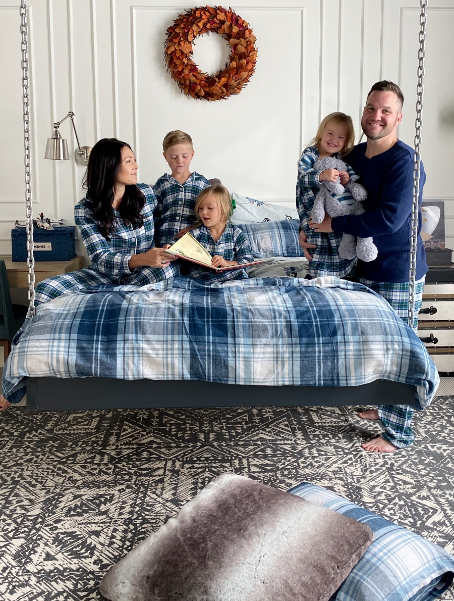 matching family pajamas for fall/winter