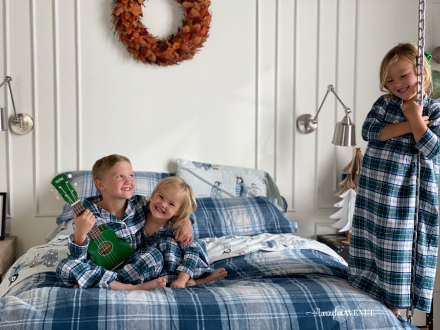 layer up with matching family flannel pajamas