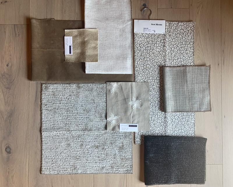 drapery & fabric swatches