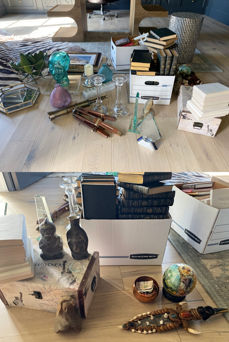 office shelf styling- shop your house