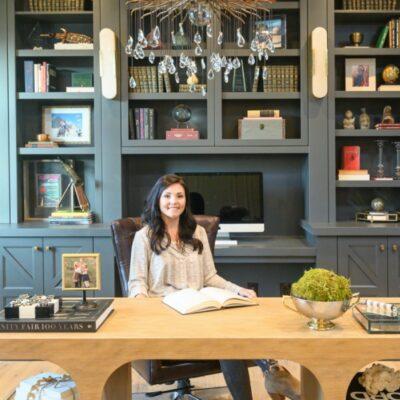 Globally inspired office Reveal