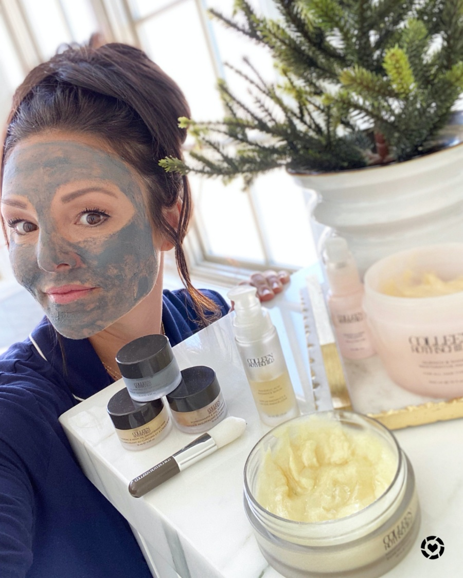 my daily skin care routine- detox mask
