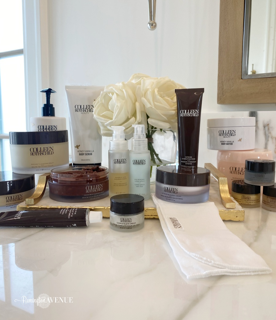 my daily skin care routine with colleen rothschild