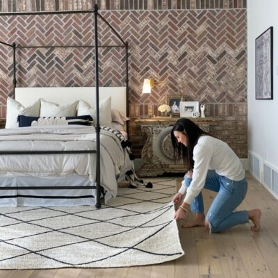 design impact changing out rugs can make