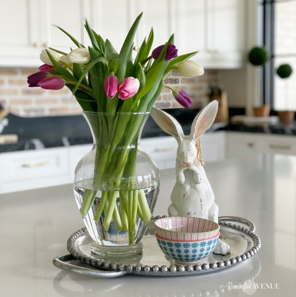 Spring styling in the kitchen