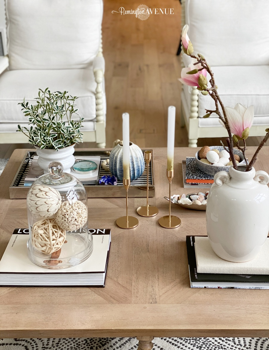 spring coffee table style