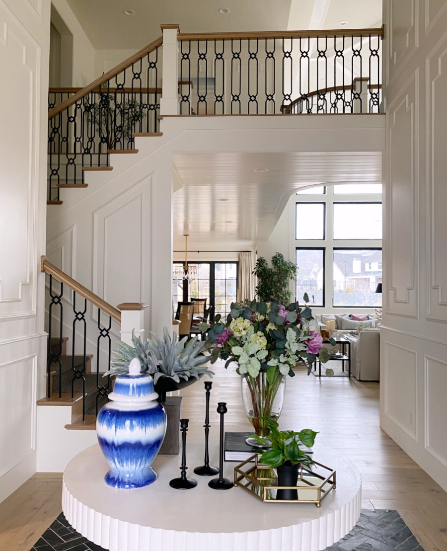 spring refresh - entry way