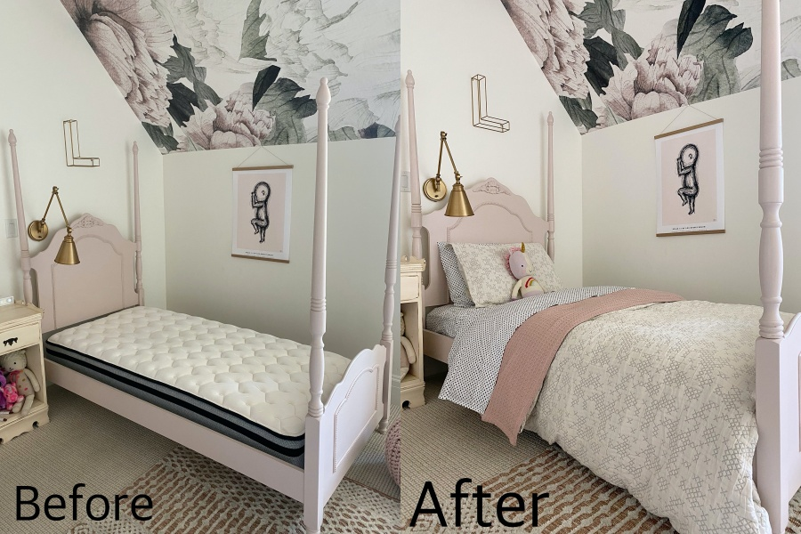 Bedding-pattern, texture, comfort