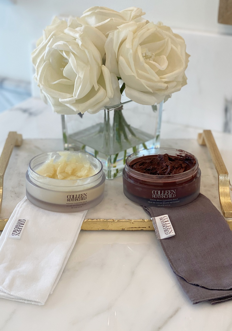 radiant cleansing balm and coco cleansing balm