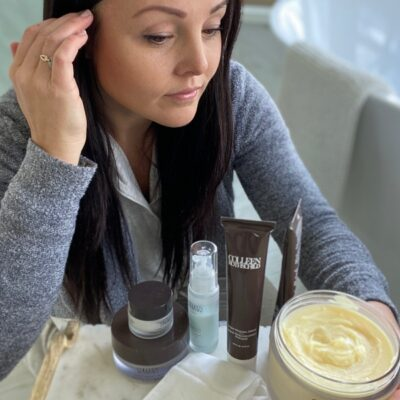 my favorite colleen rothschild luxury hair and face products