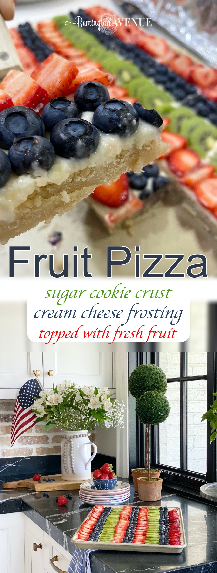 fruit pizza- summer treat favorite