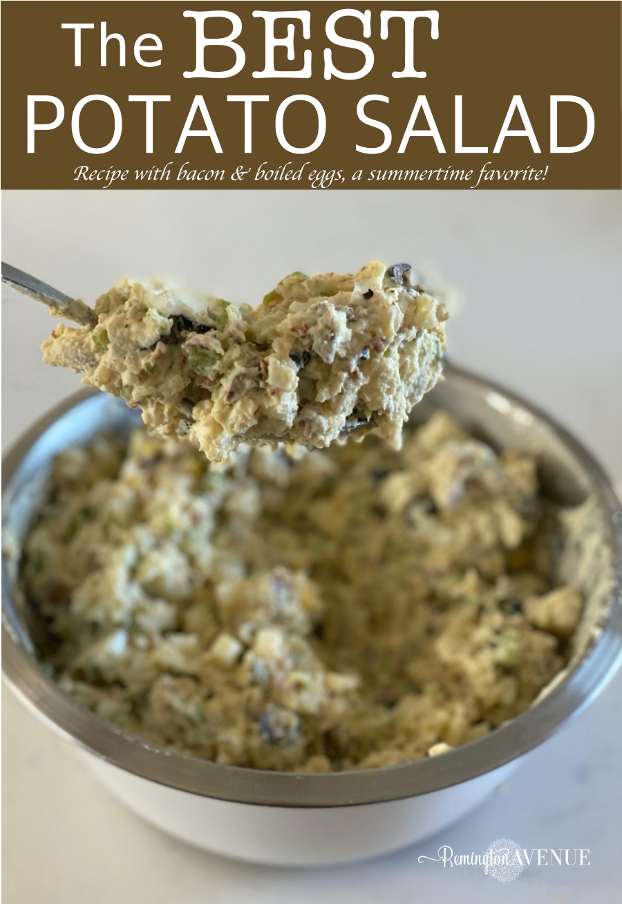 homemade potato salad recipe, summertime favorite
