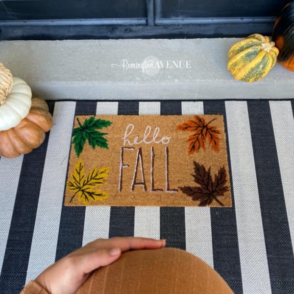 Festive Fall Front Porch Tutorial