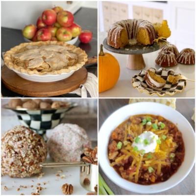 fall favorite comfort food recipes
