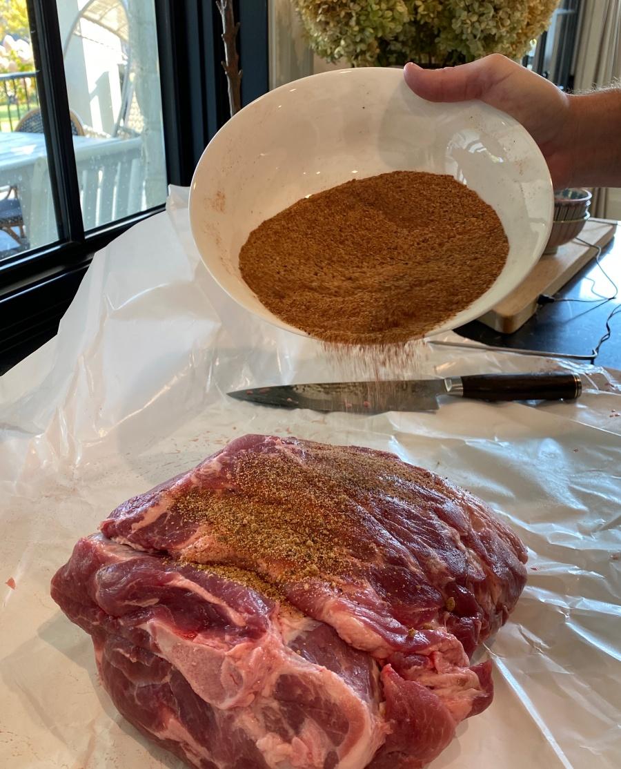 traeger pulled pork rub recipe