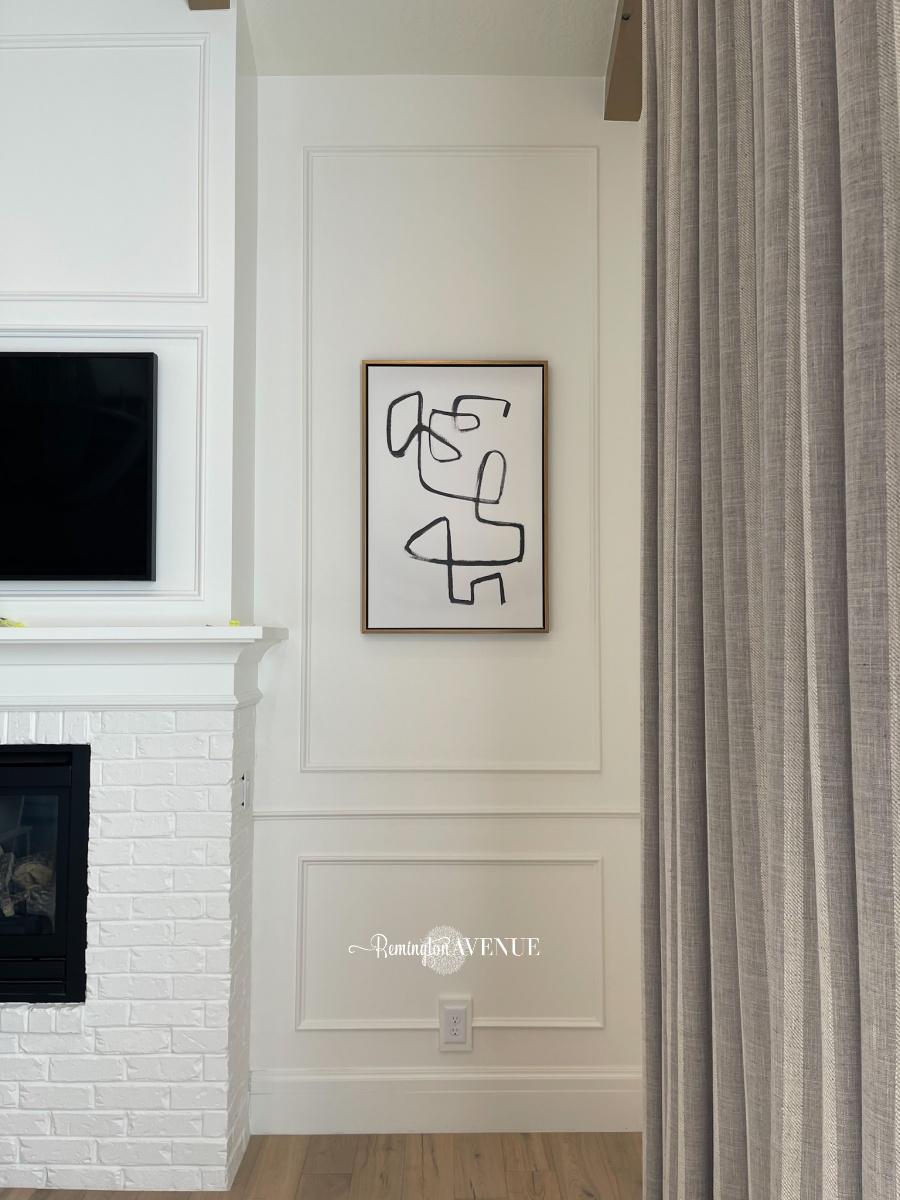diy bedroom wall molding