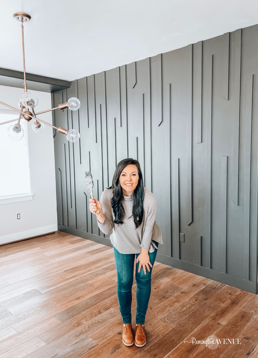 Diy Modern Midcentury Accent Wall Remington Avenue