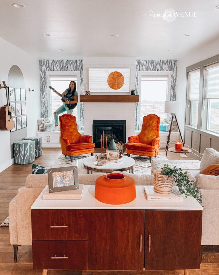 Sister's Living Room Reveal
