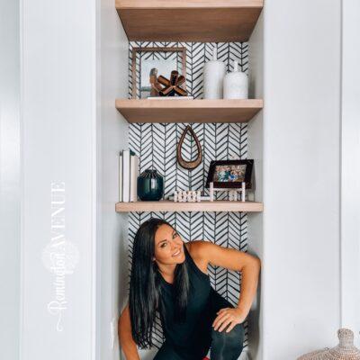 Budget Friendly Floating Shelf DIY Tutorial