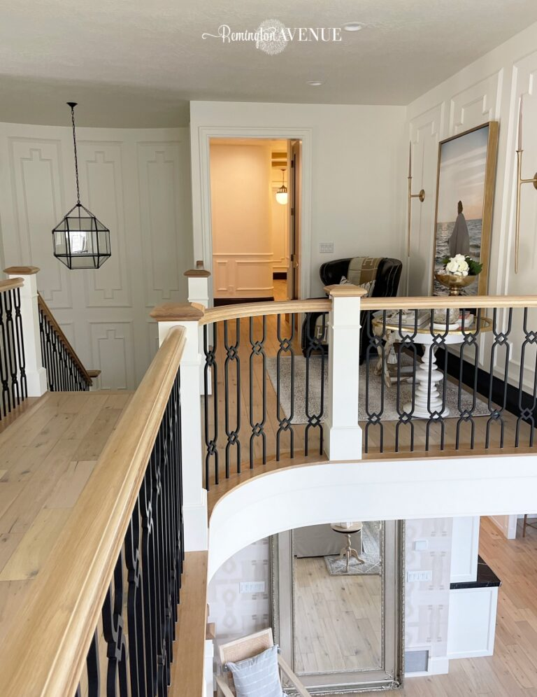 Staircase Landing Reveal