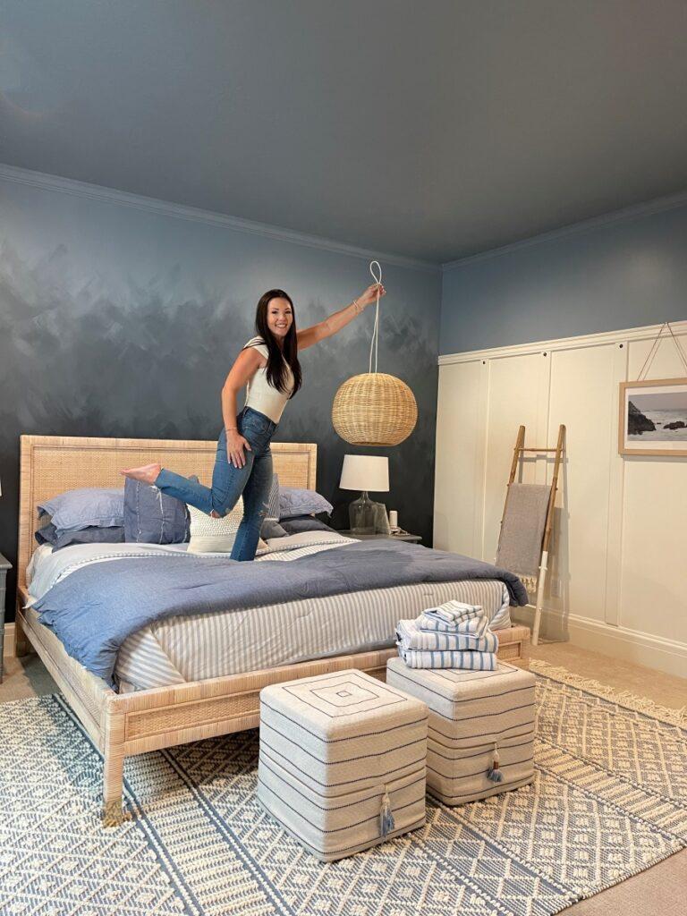 Coastal Guest Bedroom DIY